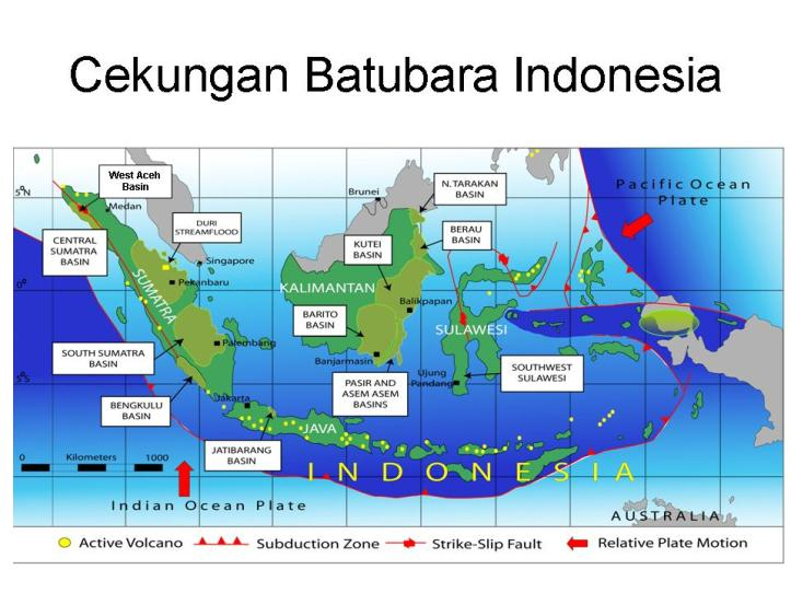 peta basin batubara indonesia